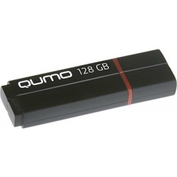 USB Flash накопитель 128GB Qumo Speedster (QM128GUD3-SP-black) USB 3.0 Black