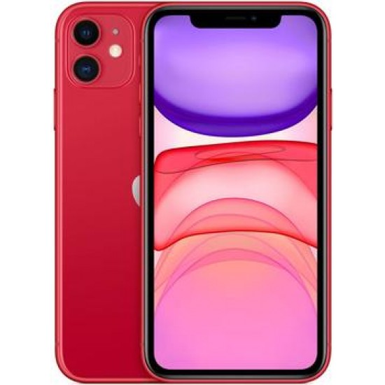 Смартфон Apple iPhone 11 128GB Red (MWM32RU/A)
